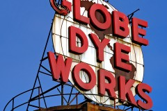 Globe Dye Works (Original Sign)*
